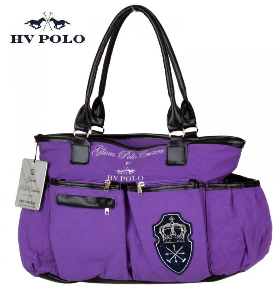 hv polo canvas tasche multi grape lila cavallini. Black Bedroom Furniture Sets. Home Design Ideas