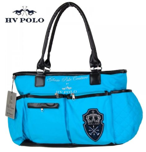 hv polo canvas tasche multi ocean blue cavallini. Black Bedroom Furniture Sets. Home Design Ideas