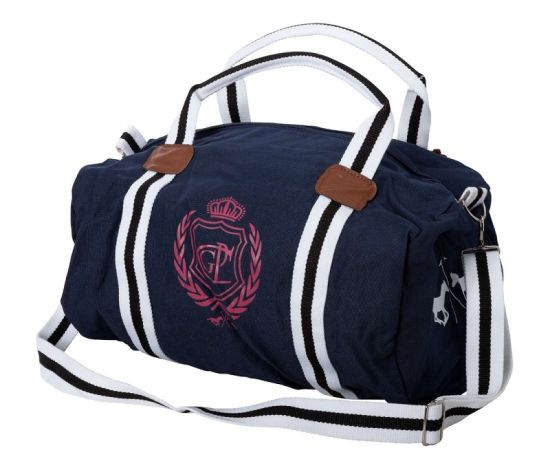 hv polo canvas tasche crown lou navy cavallini. Black Bedroom Furniture Sets. Home Design Ideas