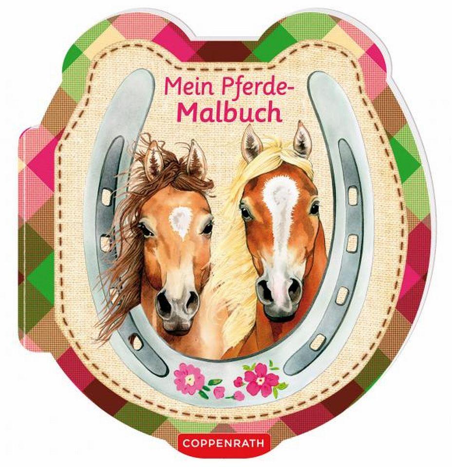 buch  mein pferdemalbuch  cavallini reitsport onlineshop