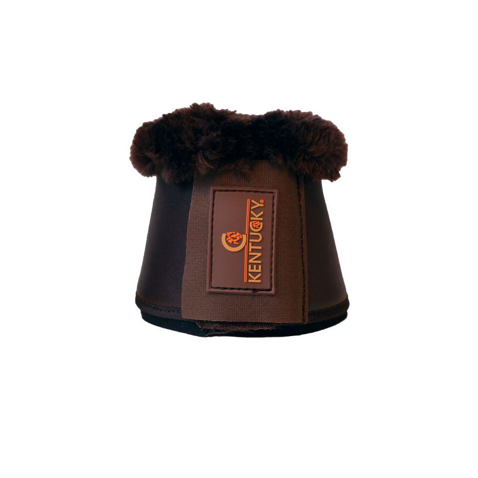 kentucky sprungglocken leder lammfell braun braun cavallini reitsport onlineshop. Black Bedroom Furniture Sets. Home Design Ideas
