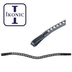 Ikonic Stirnband STRASS Wellenform