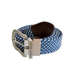 HORSE PILOT Gürtel EXCHANGE BELT - denim dot
