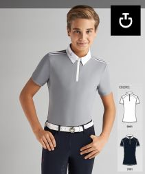 Cavalleria Toscana Kids BOY Elastic BAND Polo
