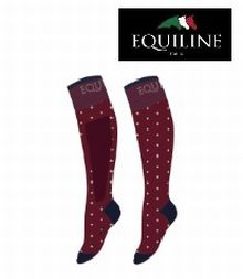 Equiline Reitsocke DOT - rio red