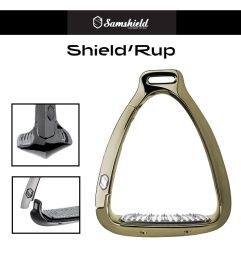 Samshield Steigbügel ShieldRup - gold chrome