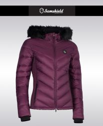 Samshield Damen Daunenjacke COURCHEVEL18 - plum