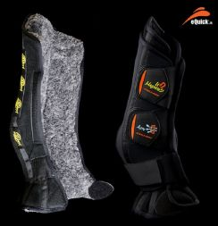 eQuick Gamasche eBoots KRISTAL AeroMagneto - front