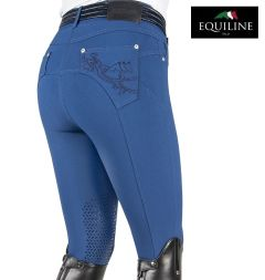 Equiline Reithose OLIVIA X-Grip - crown blue