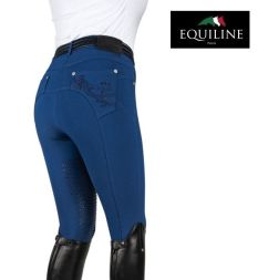 Equiline Reithose PATTY X-Half Grip - crown blue