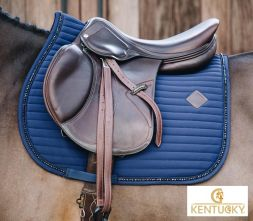 KENTUCKY HORSEWEAR Schabracke PEARLS - navy