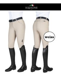 Equiline Reithose FRANZI X-Grip - weiss