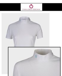 CT Turniershirt Perforated WAVE Jersey Comp. POLO