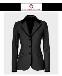 CT Damen Turniersakko GP PERFORATED Jacket - black