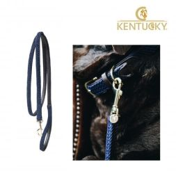 KENTUCKY Hundeleine PLAITED NYLON - navy