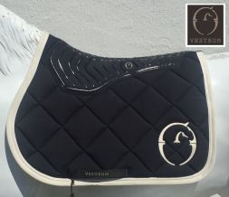 VESTRUM Schabracke Saddle Pad TRUCKEE Grip - navy