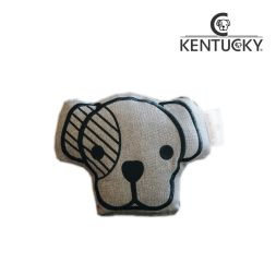 KENTUCKY Hundespielzeug DOG TOY HEAD - grau