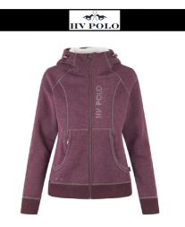 HV POLO Damen Sweat Hoody WINGFIELD - plum