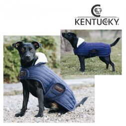 KENTUCKY Hundemantel DOG Coat PEARLS - marine