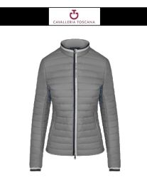 CT Damen Ultralight QUILTED PUFFER JACKET grau