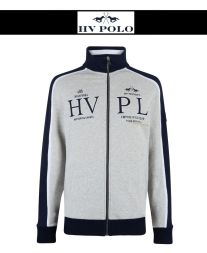 HV POLO Herren Sweatjacke DOCK - grey melange