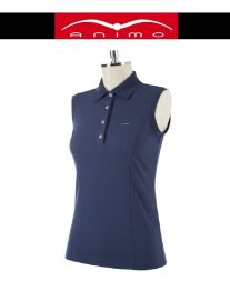 ANIMO Damen Polo BRANDY - oltremare